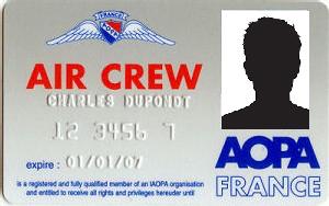 AOPA France Crew Card