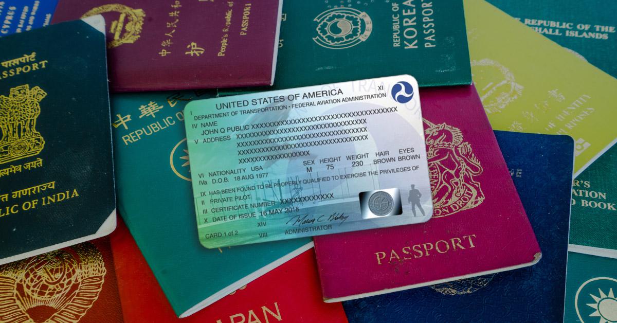 Licenses FAA en Europe